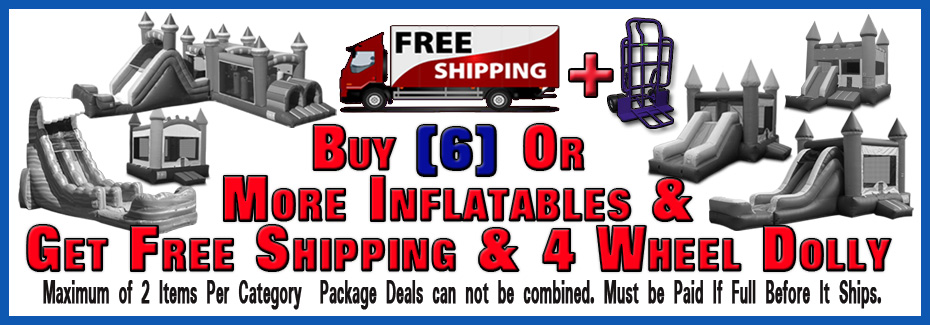 Inflatables In Stock Ready to Ship